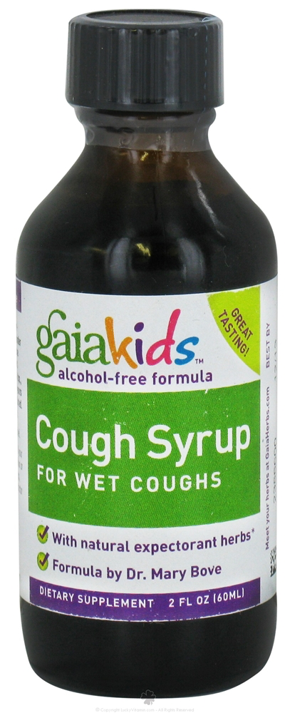 Gaia Herbs Gaiakids Cough Sirup Wet cough 60 ml