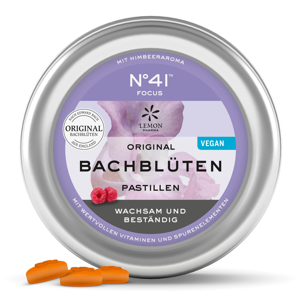 Bach pastiller No.41™ KONCENTRATION - 50gr