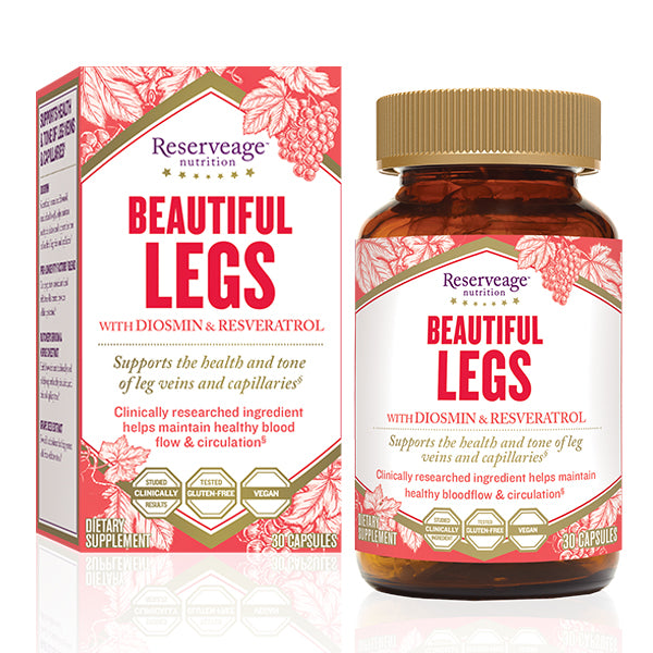 Reserveage - Beautiful Legs with Diosmin - 30ct (DATOVARE)