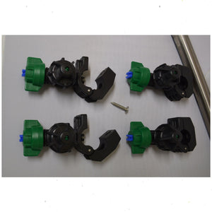 Sprayer Nozzles for Weed Sprayers Clamp Type for Boom Tube Mount (SET OF 4)