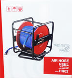 Hose Reel Manual Wind with 30 m of 10 mm Hose