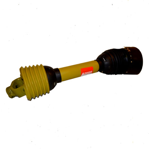 PTO Shaft Telescoping with CV Wide Angle Joint One End Size 8 x 1200 mm