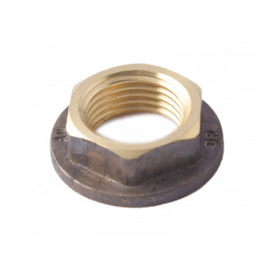 Flanged Brass Back Nut