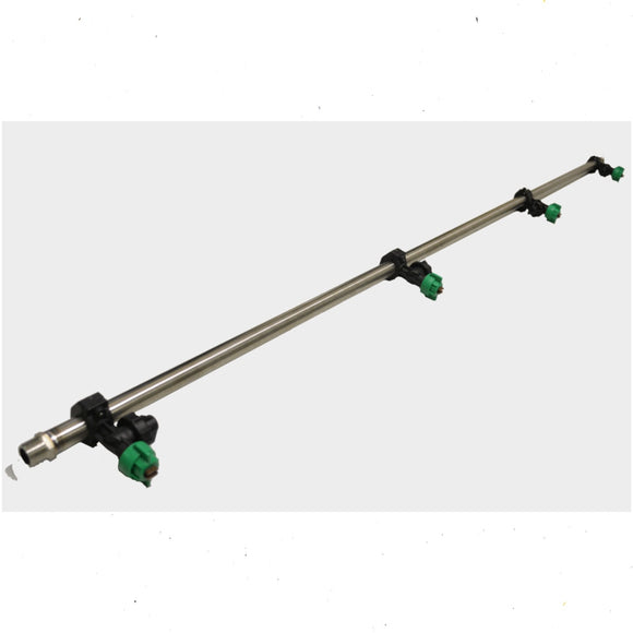 Sprayer Boom Pole Stainless With 4 Sprayer Nozzles Cover 2 metres.