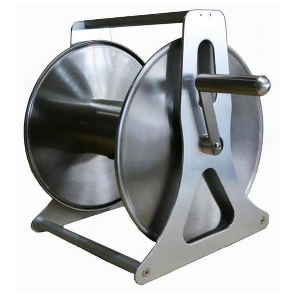 Hose Reel Stainless Steel Body and Frame to take 30 metre x 12 mm
