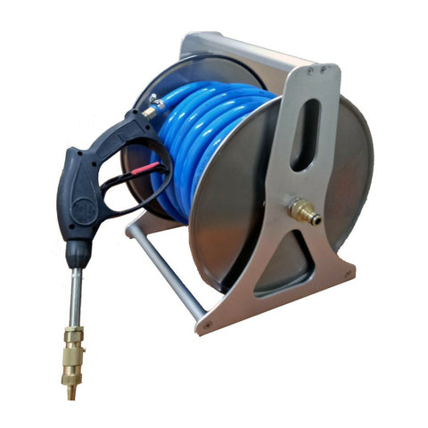 "Hose Reel with 20 Metres of 1/2"" Chemical Hose Spot Spraying, Weeds"