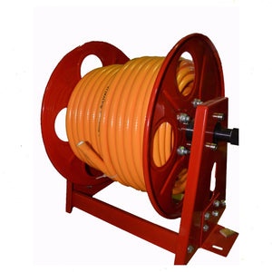 Fire Fighting Hose Reel, Heavy Duty with 50 m of 12 mm Hose