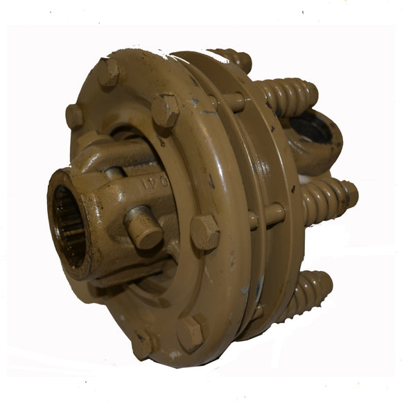 Friction Clutch for PTO Drives 180 mm Double Plate Suit Type 6 Shaft