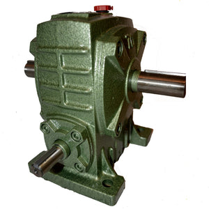 Reducer Gearbox Type 60 Ratio 50:1 Reduction with Thru Shaft Output.