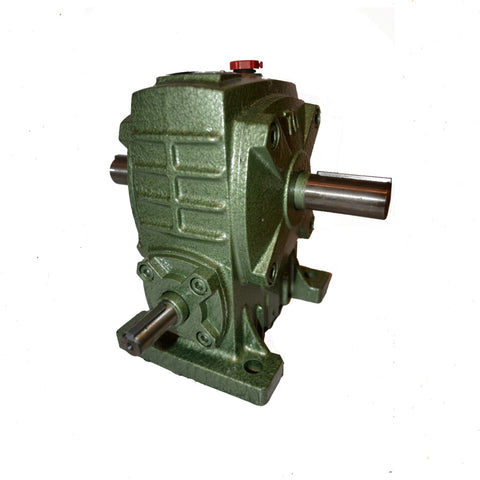 Gearbox Worm Wheel Reducer Type 80 Ratio 30:1 Reduction with Thru Shaft Output