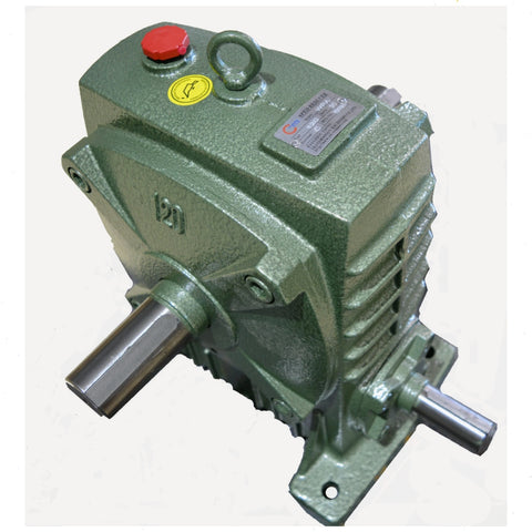 Gearbox Worm Wheel Reducer Type 120 Ratio 30:1 Reduction with Thru Shaft Output