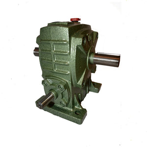Gearbox Worm Wheel Reducer Type 50 Ratio 30:1 Reduction with Thru Shaft Output