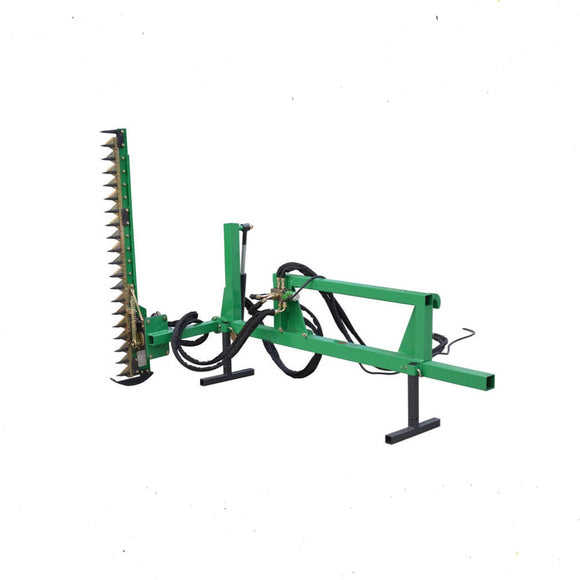 Hedging Machine Hydraulic 1800 mm Cut Adjustable Angle Skid Steer Mount