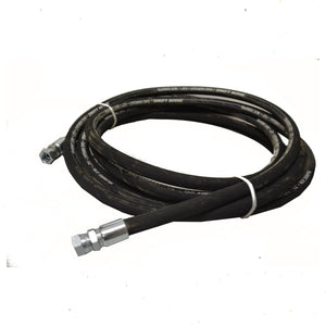 "Hydraulic Hose 3/4"" x 2 Braid PSI x 2.5 meter Roll with BSP Fittings"