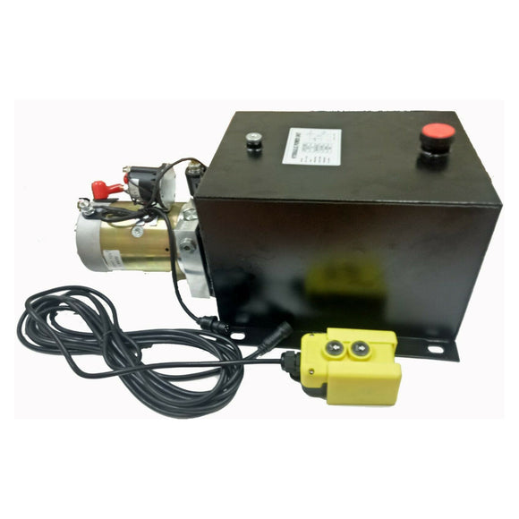 Hydraulic Power Unit Single Solenoid, Trailer Tipping 17 Litre