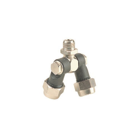 "1/4"" BSP Double Swivel Coupling Nozzle Holder"