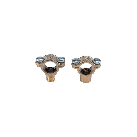 Brass Clamps for Stainless Steel Rods 1/4 F