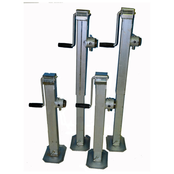 Canopy Lifting Jacks Set of 4 Wind and Drop Galvanised Finish