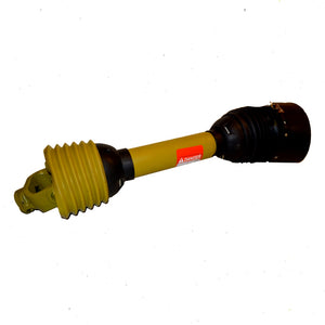 PTO Shaft Telescoping with CV Wide Angle Joint One End Size 8