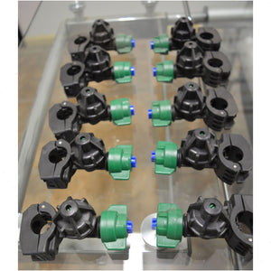 Sprayer Nozzles for Weed Sprayers Clamp Type for Boom Tube Mount (SET OF 10)