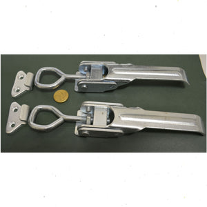 Trailer Over Centre Side Catch Adjustable 166 to 210mm Overall (SET OF 2)