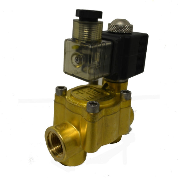Valve Solenoid Type 12 volt 1/2 inch BSP Thread Pressures to 850 psi Braglia