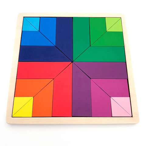 Image of Wooden Puzzle Palette