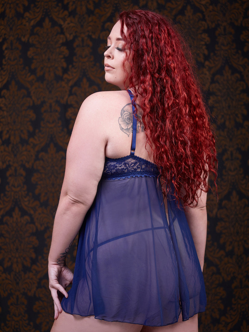 Tresa Babydoll Night Dress (CURVY)