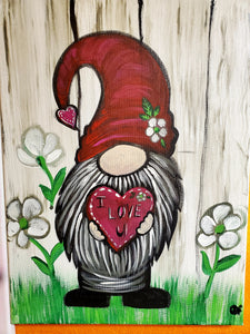 Feb 6 6pm I love you gnome