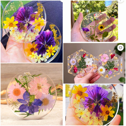 Saturday 4/17 1pm💮🌺Resin Coasters Class (3 each)🌺💮 💛All ages welcome!  🎨95a west main street Fernley   🥳$35 per person, drinks and snacks always included! Sign up soon @ Www.ArtistasFernley.com