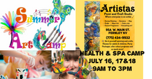 Load image into Gallery viewer, Artistas Kids Camp