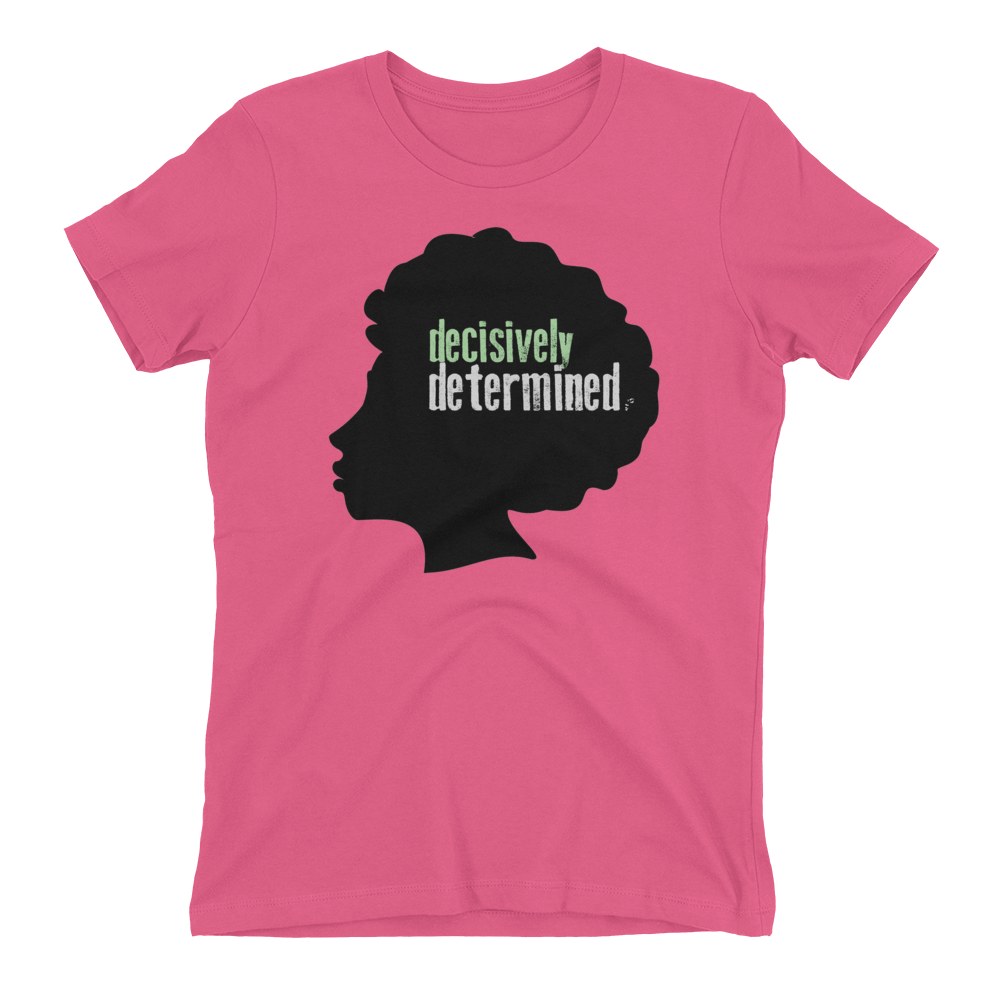 Decisively Determined Bowia Novelty T