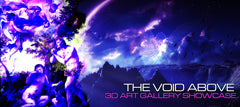 The Void Above art show