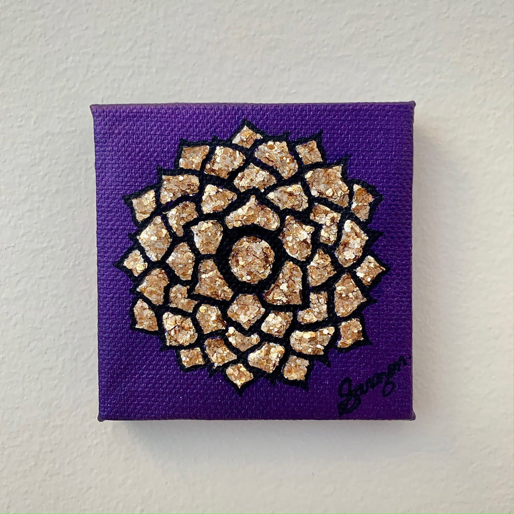 Sahasrara • Crown Chakra Mini • Monochromatic