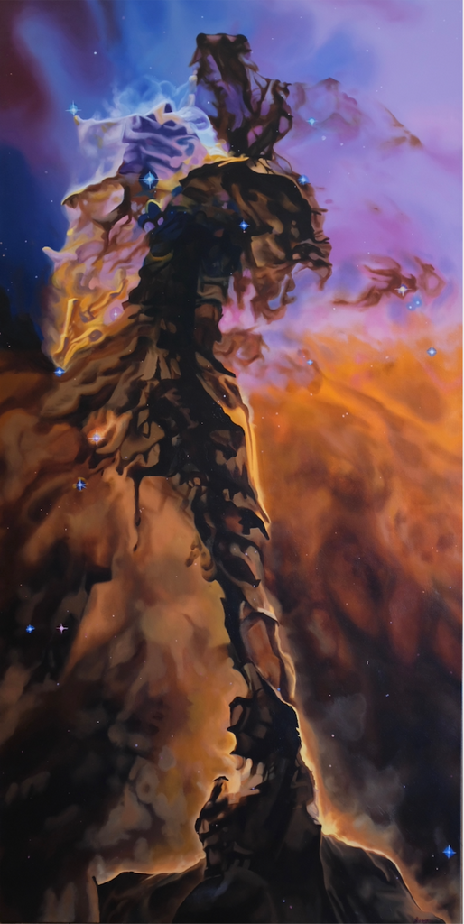 Painting of the Eagle Nebula