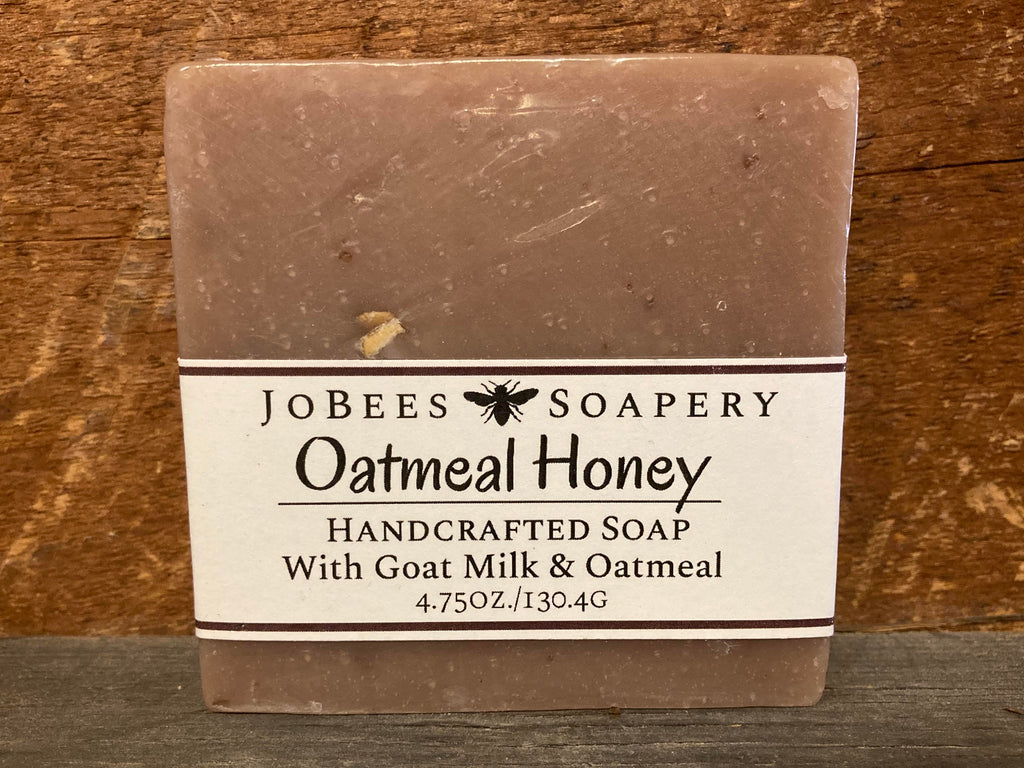 Oatmeal Honey Bar Soap - The Pickle Patch Store