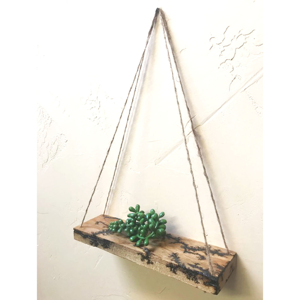 Fractal Hanging Shelf - The Pickle Patch Colorado food and gifts