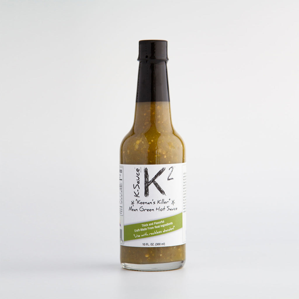 K-2 Mean Green Hot Sauce (5 oz.) - The Pickle Patch Colorado food and gifts