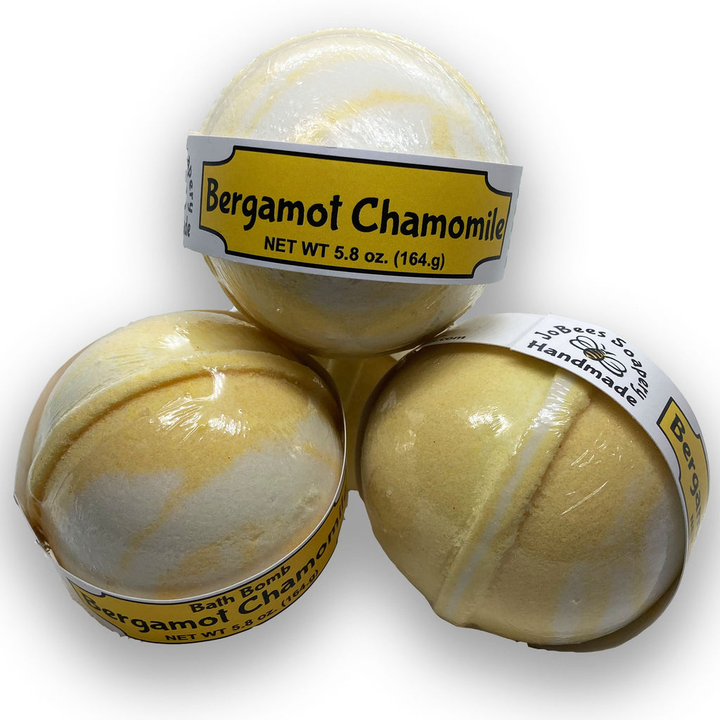 Bergamot Chamomile Bath Bomb - The Pickle Patch Colorado food and gifts