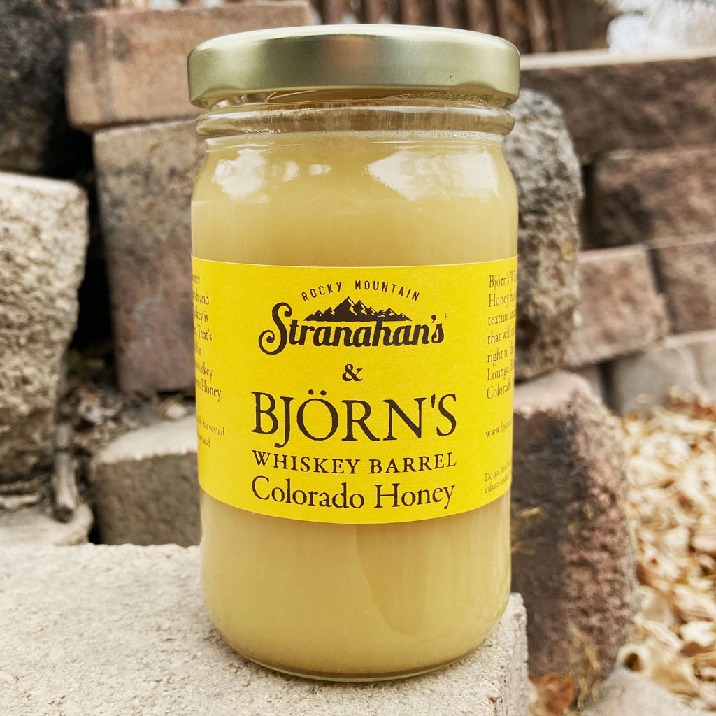 Björn's & Stranahan's Whiskey Barrel Colorado Honey 10.5oz - The Pickle Patch Colorado food and gifts