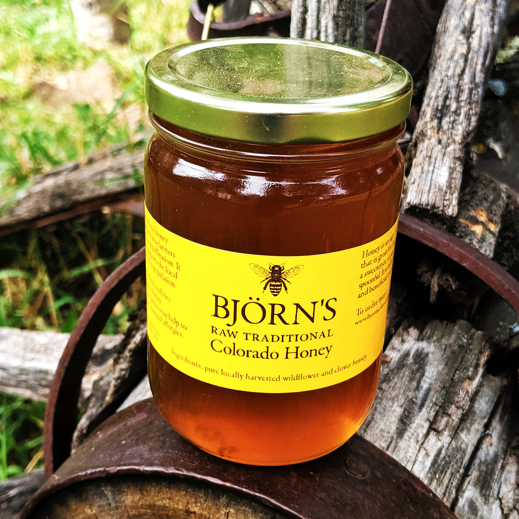 Björn's Traditional Colorado Honey 16oz - The Pickle Patch Colorado food and gifts