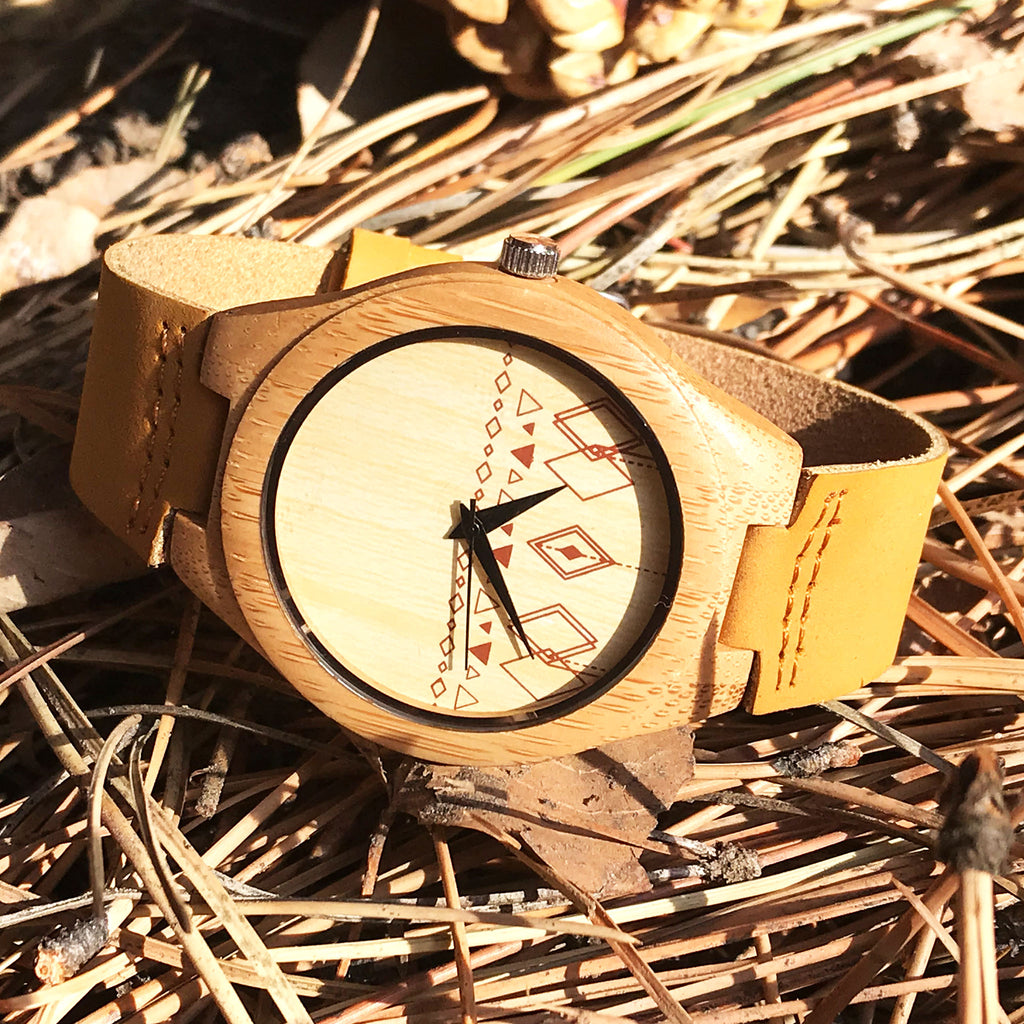 Magnificent Mesa - natural wooden wristwatch - The Pickle Patch Colorado food and gifts