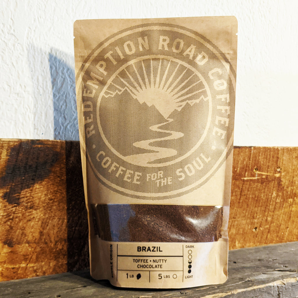 Brazil - 1LB fine ground coffee - The Pickle Patch Store