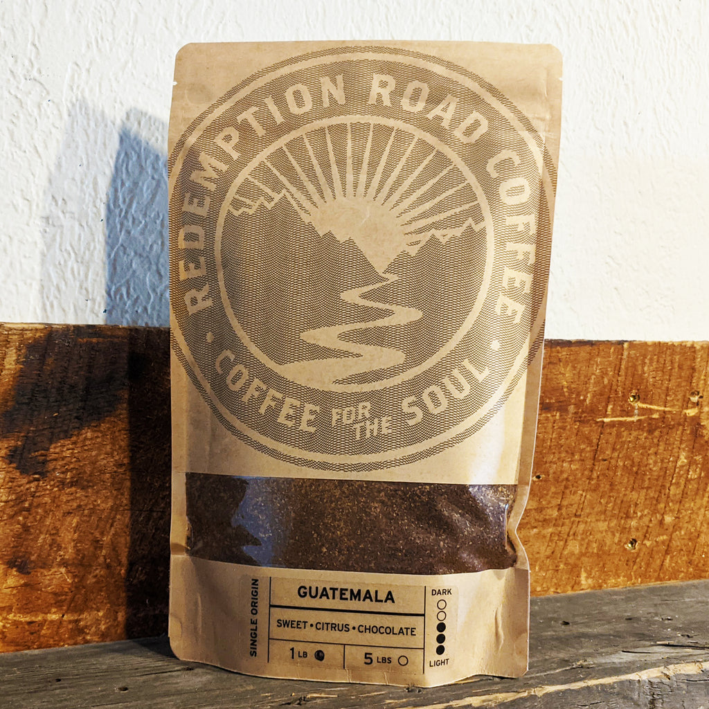 Guatemala - 1LB fine ground coffee - The Pickle Patch Store