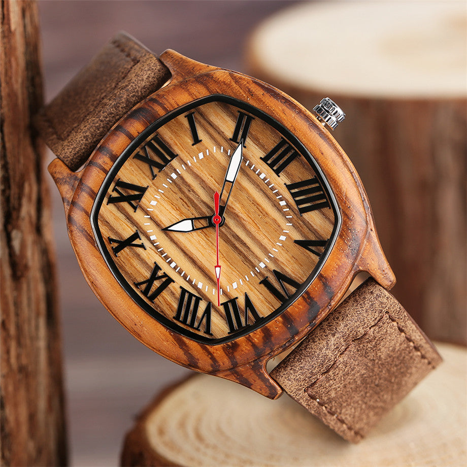 Seasoned - natural wooden wristwatch - The Pickle Patch Colorado food and gifts