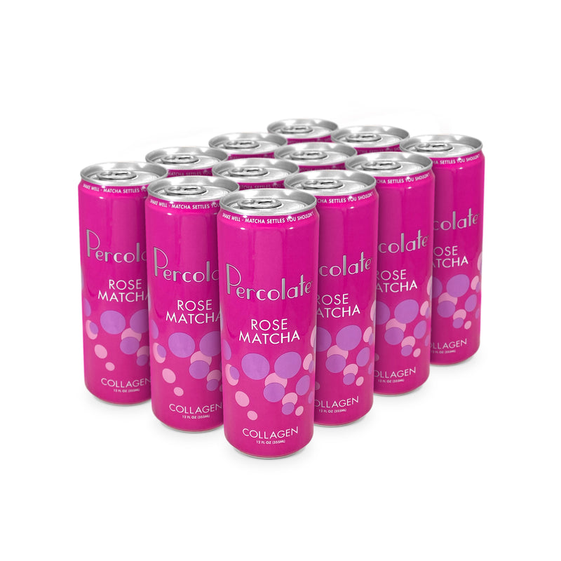 "Rose Collagen Matcha <br class=""br"">(12 Pack)"