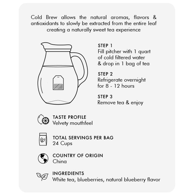 Wild Blueberry Cold Brew (60g)