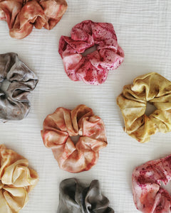 Cosmico Silk Scrunchie - Rose