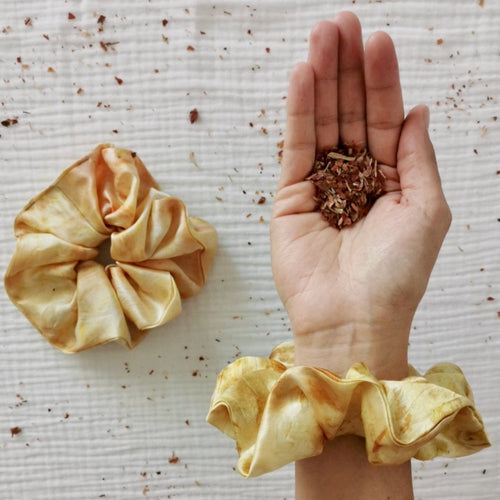 Cosmico Silk Scrunchie - Sunrise
