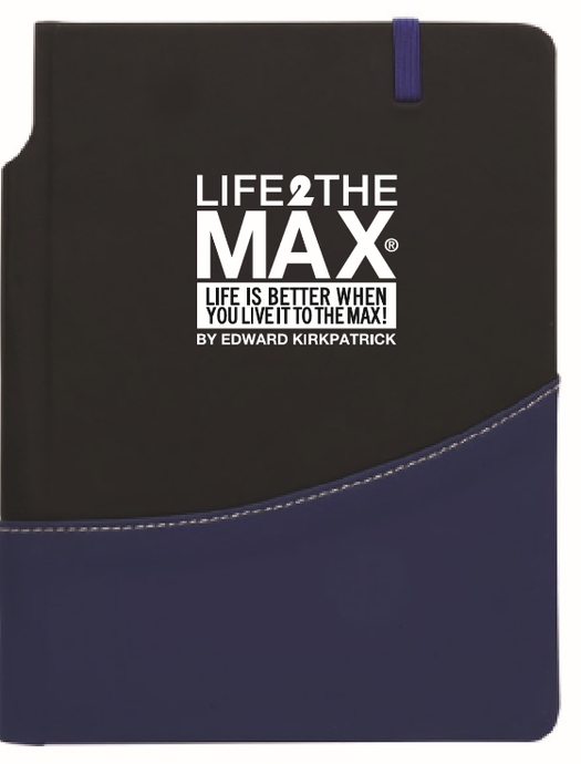 Life2TheMax Swag Blue/Black Notebook 5x7